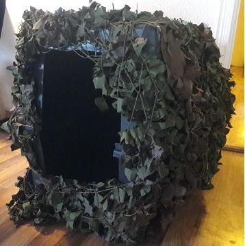 camouflage transportbur jagt