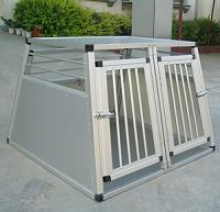 et dobbelt transport bur i alu god ventilation stærkt metal