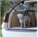 solidt bur, som passer fint til bagagerummet i fx stationcar som Kia Ceed eller Volvo V70