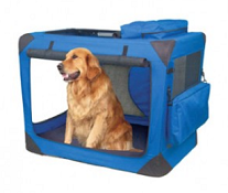 Lærred hundetaske / bur billig og fås i syv forskellige størrelser. Se de forskellige priser i butikken, hvor de er til salg nu